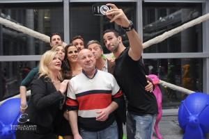 selfie con Rami