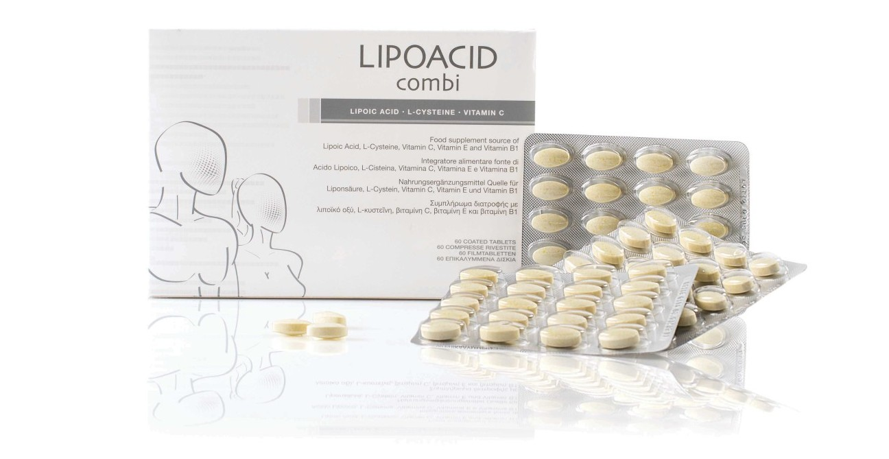 LIPOACID combi 60 compresse