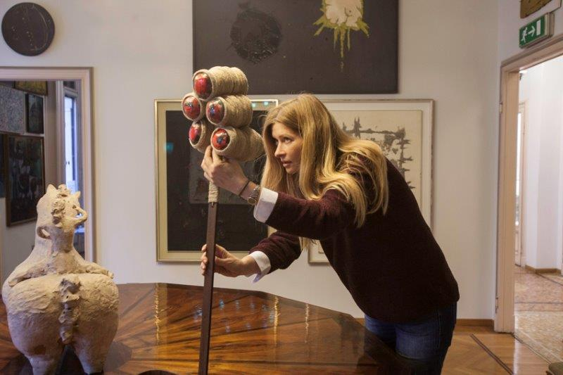 Andi e Santa Veronica per OLTRE al Museo Boschi di Stefano 23 ott 2015 ter, foto Emiliano Biondelli