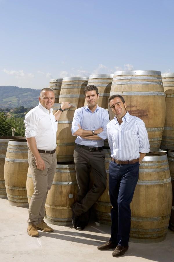 Azienda La Valentina Pescara-Abruzzo Sabatino Di Properzio con i fratelli Roberto e Andrea
